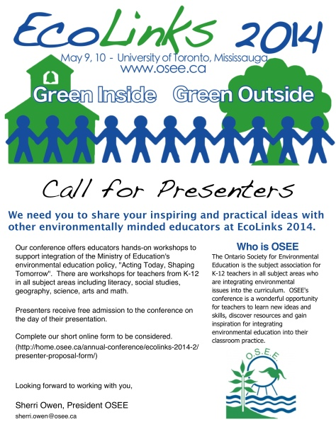 call-for-presenters-EcoLinks-2014